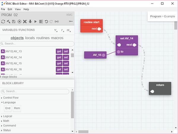 Kmc Converge Block Editing Screen Capture