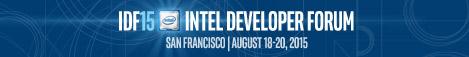 Intel Developer Forum Banner