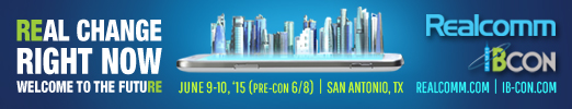 Realcomm 2015 Conference Info Banner