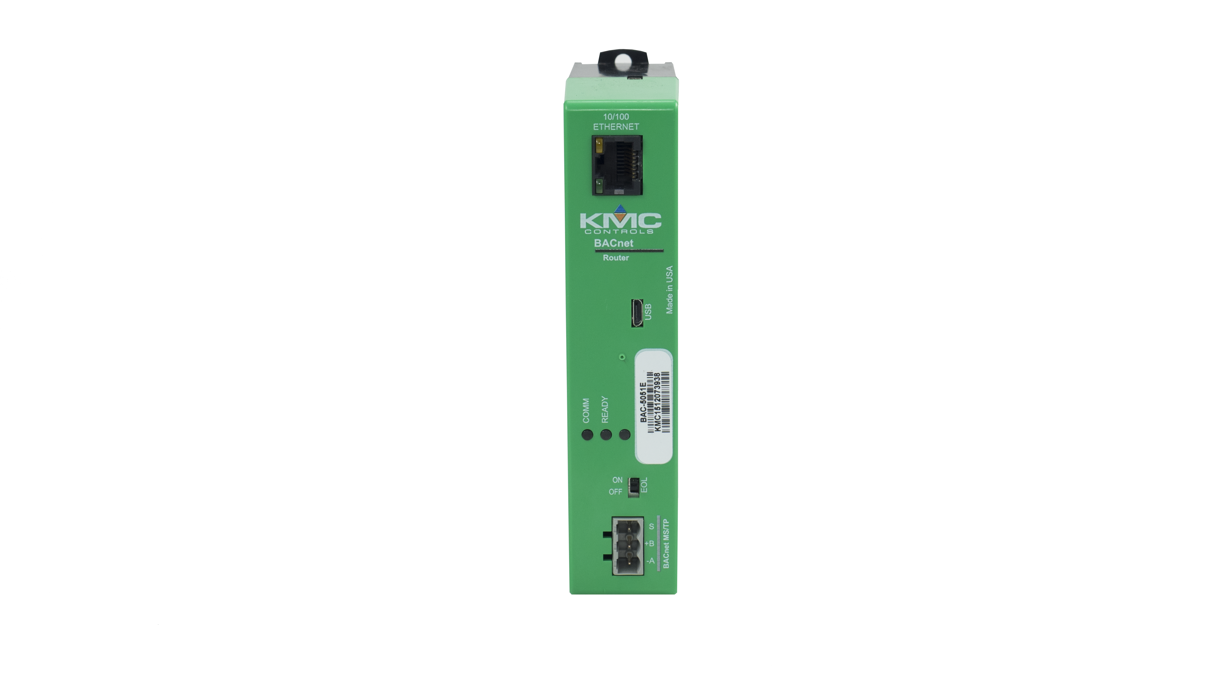 Router: BACnet, IP/Enet/Single MSTP | KMC Controls